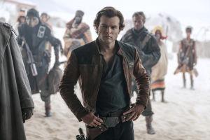 Han Solo elokuvassa Solo: A Star Wars Story.