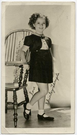Meri sai paluupostia ihalijakirjeeseensä Shirley Tempelle vuonna 1937.