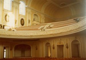 Moskovan konservatorion sali.