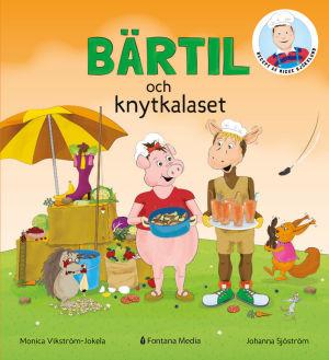 Boken Bärtil och knytkalaset är skriven av Monica Vikström-Jokela och illustrerad av Johanna Sjöström.