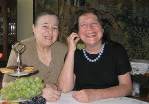 Ludmila ja Elisabeth Leonskaja Wienissä.
