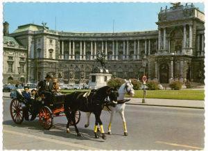 Postikortti Wienistä Meri Louhokselle 1965.