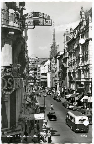 Postikortti Wienistä 1964.