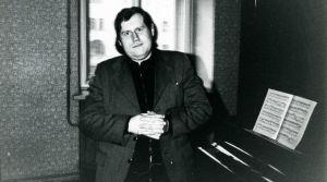 Nuori pianotaiteilija Grigory Sokolov.