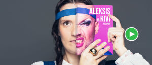 Aleksis ja Kivi -podcastin tunnuskuva