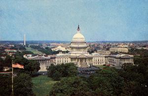 Capitol Washington D.C. 1960.