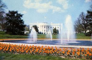Valkoinen talo Washingtonissa 1960.