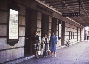 Meri Louhos Eastman School of Musicin edustalla 1960.
