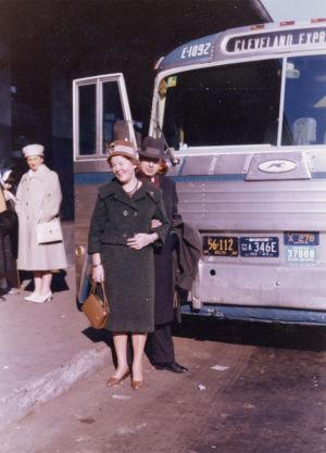 Taneli ja Kyllikki Kuusisto käymässä Rochesterissa 1960.