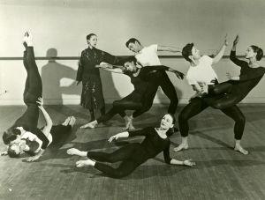 Martha Grahamin tanssiryhmä 1960.