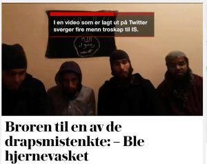 Skärmdump från Verdens Gang.