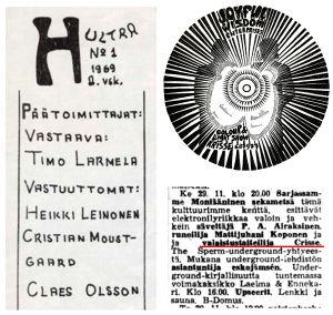 Ultra-lehden 1/1969 toimituskunnan kokoonpano