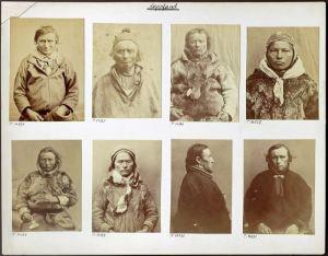 Fotografier av samer tagna i samband med människoutställningar i Berlin mellan år 1875 och 1879. Beställda av Rudolf Virchow och tagna av Carl Günther.