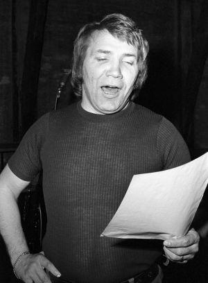 Laulaja Eino Grön vuonna 1973.