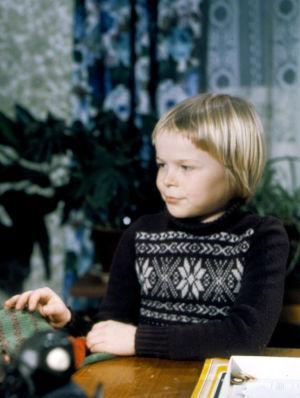 Kyösti Väntänen tv-draamassa Villahousupakko (1977).