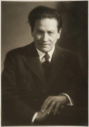 Säveltäjä Selim Palmgren 1920-luvun lopulla.