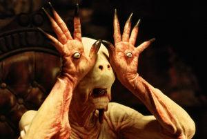 Hirviö Guillermo del Toron elokuvassa Panin labyrintti.