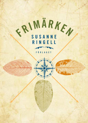 """Pärmbild till Susanne Ringells bok """"Frimärken""""."""