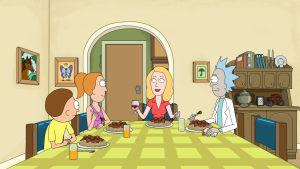 Kuvituskuva Rick and Morty -sarjasta.