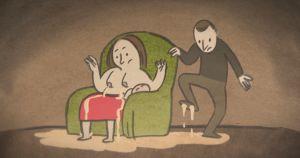 Kuva Mother and Milk -animaatiosta.