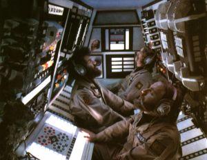Alienin käsikirjoittaja Dan O´Bannon elokuvassa Dark Star.