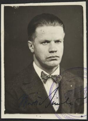 Kapellimestari Martti Similä 30-luvulla (arvio).