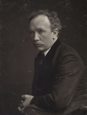 Säveltäjä Richard Strauss.