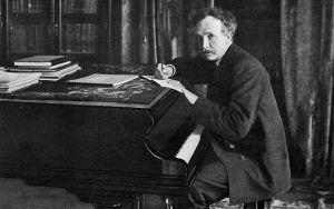 Säveltäjä Richard Strauss noin 1902.