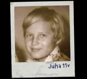 Juha Vasku som ung