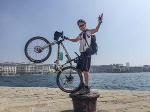 Kaj Arnö cyklar.