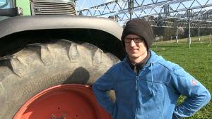 Jordbrukaren Florian Reyer säger att anläggningen är anpassad för maskinparken.