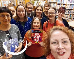 Lastenkirjainstituutin väkeä Tampereella, kevät 2019