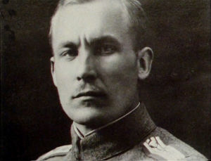 Pohjan Poikien komentaja Hans Kalm (1919).