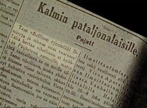 Lehti-ilmoitus 23.12.1918.
