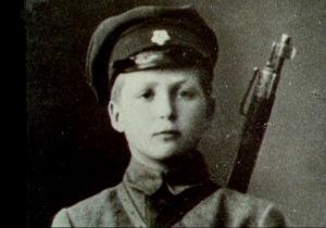 Nuori sotilas Viron vapaussodassa (1919).