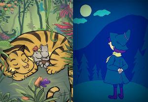 Nukkuva tiikeri ja Nuuskamuikkunen