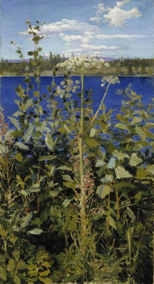 Akseli Gallen-Kallela: Karhunputki, 1889