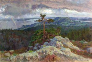 Eero Järnefeltin maalaus Koli (1917)