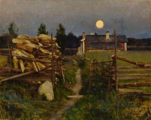 eero Järnefelt: Kesäyön kuu 1889