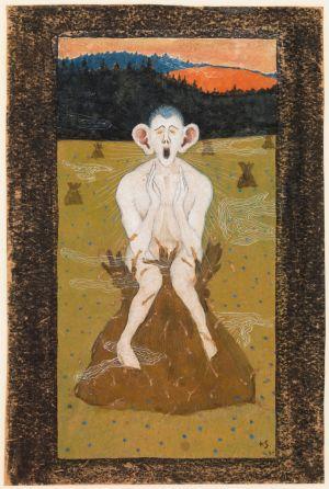Hugo Simberg: Halla, 1895