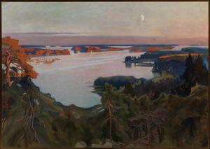 Albert Edelfelt: Näköala Haikon yli 1899