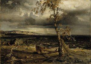 Werner Holmberg: Myrsky Näsijärvellä