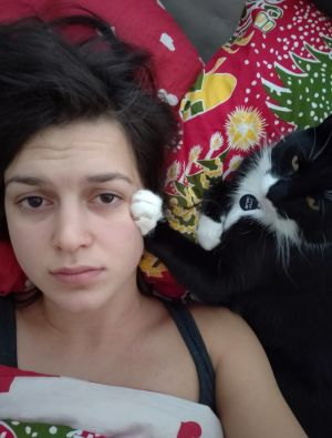 Mimosa Willamo ja kissa