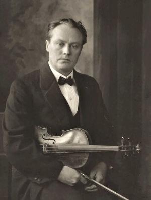 Viulisti Elis Panula, kapellimestari Jorma Panulan isä.