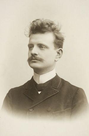 Nuori Jean Sibelius.