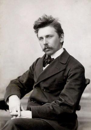 Nuori säveltäjä Armas Järnefelt.
