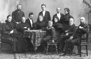 Järnefeltien perhe 1896.