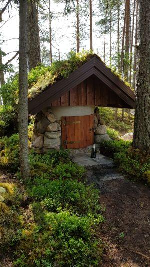 Källarbyggnad. Tero Ikonen, Siilinjärvi.