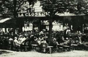 La Closerie des Lilas -ravintola Pariisissa 1920-luvulla.