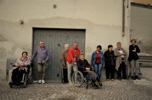 I byn San Michele med 215 invånare finns ett tiotal hemvårdare från Östeuropa.